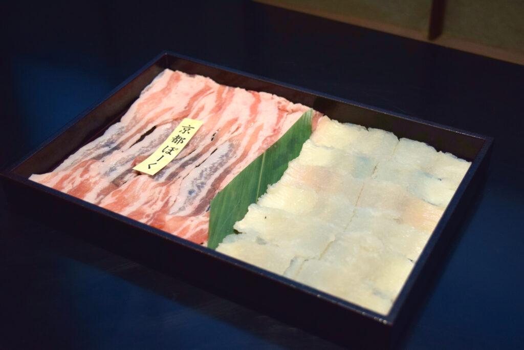 瓢喜,鱧,京都ぽーく,秋鍋