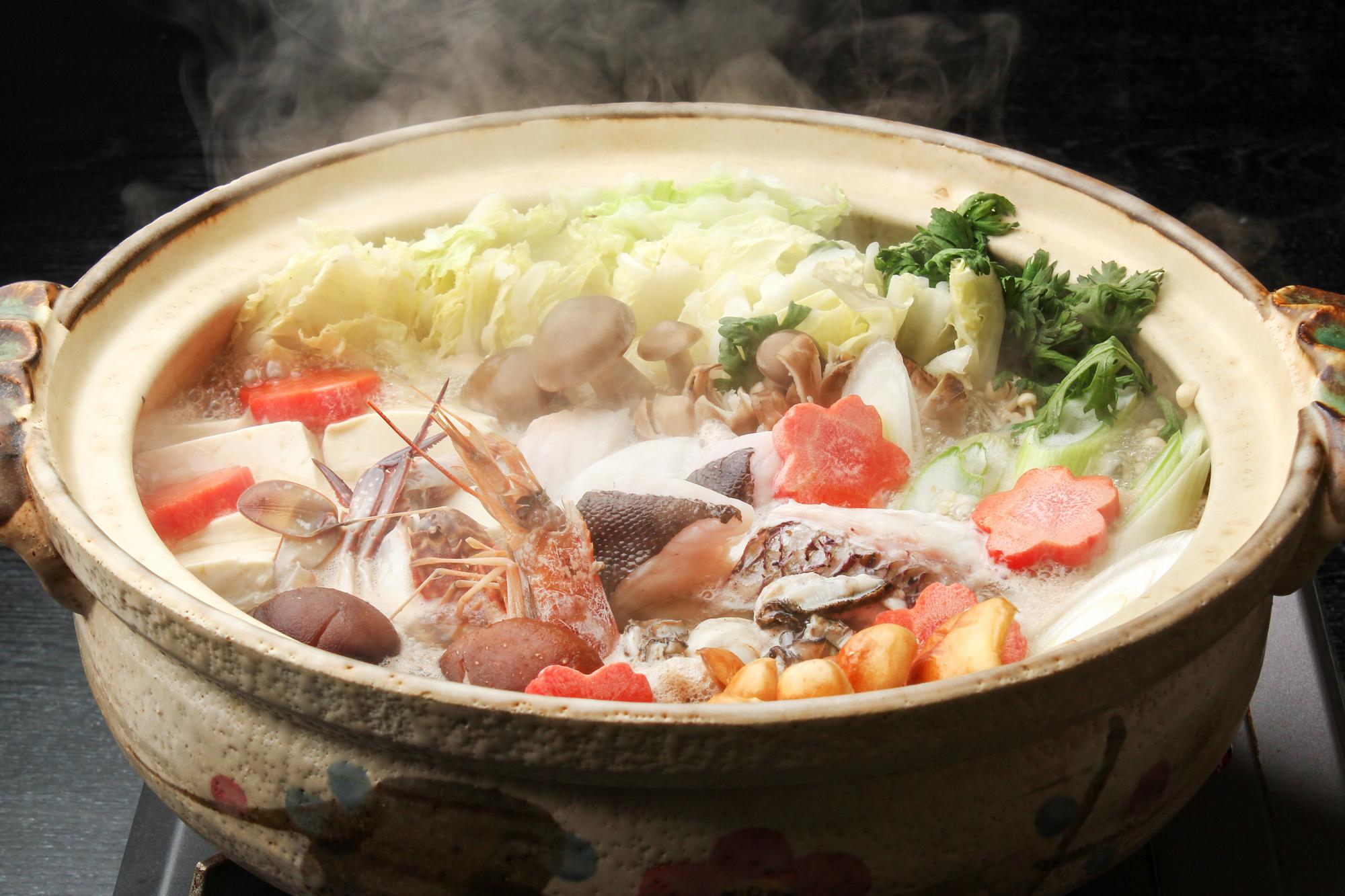 土鍋を使った調理