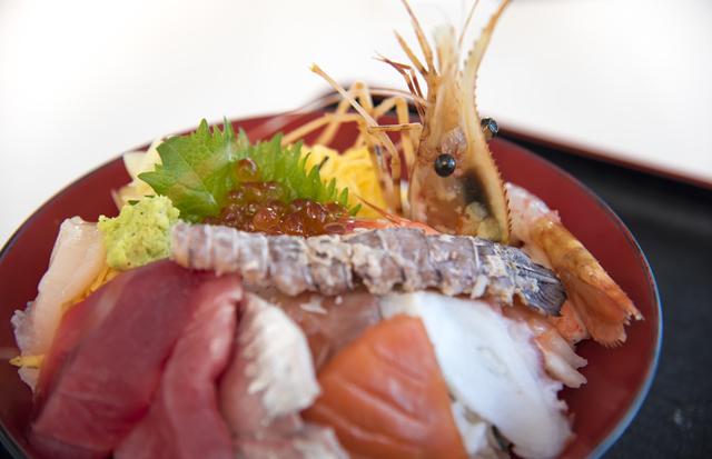 シャコ 海鮮丼