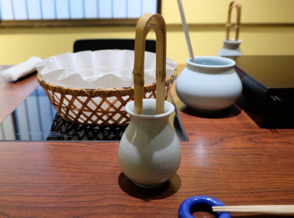 瓢喜,鍋,しゃぶしゃぶ,取り分け,取り箸,トング