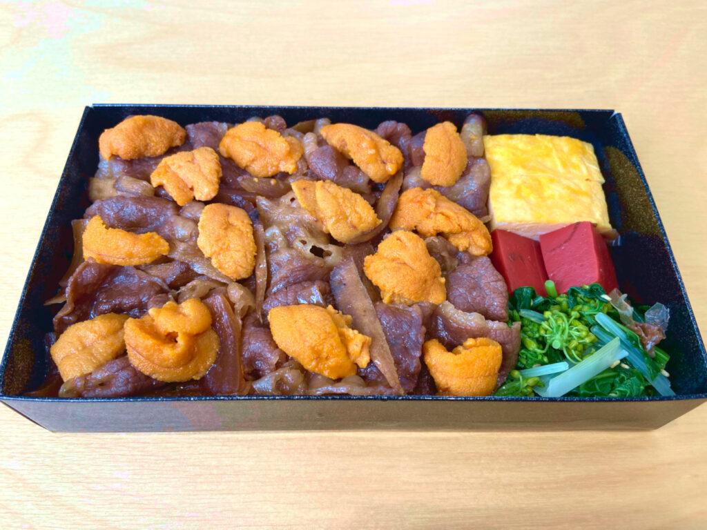 瓢喜,すき焼き,雲丹,折詰,東京