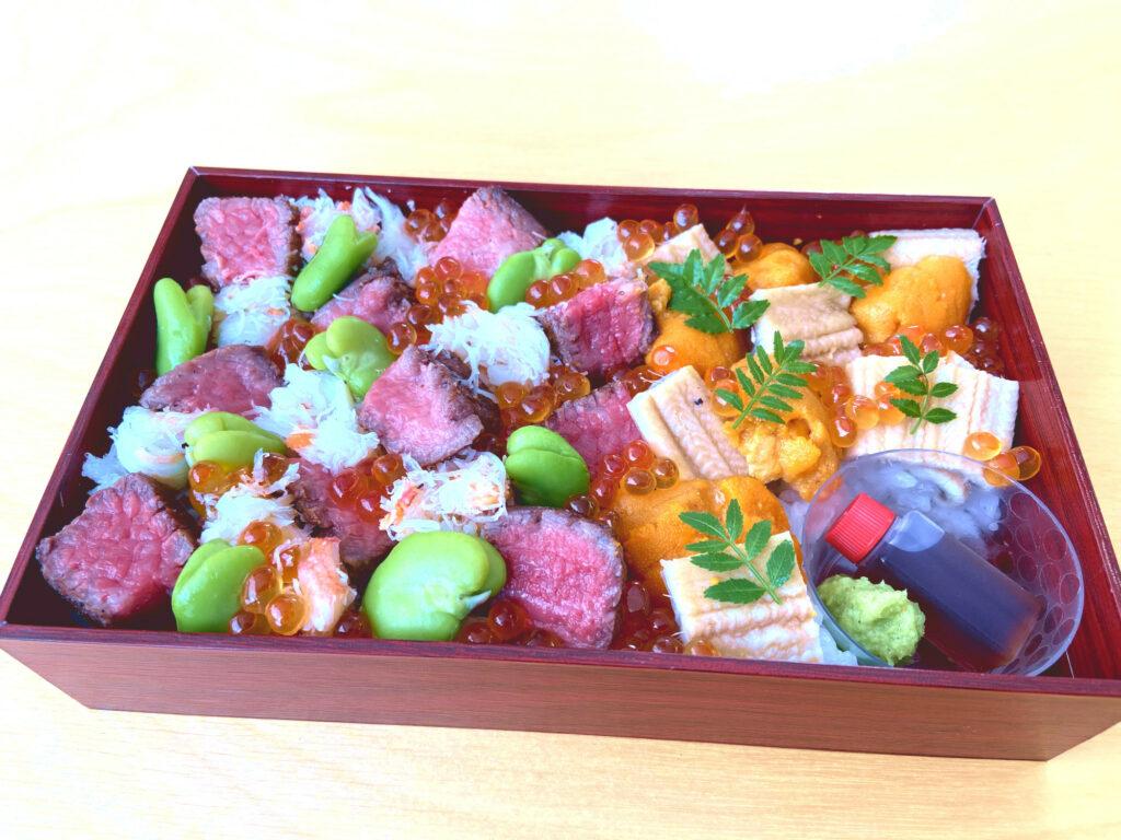 瓢喜,ちらし寿司,肉ちらし,東京,テイクアウト