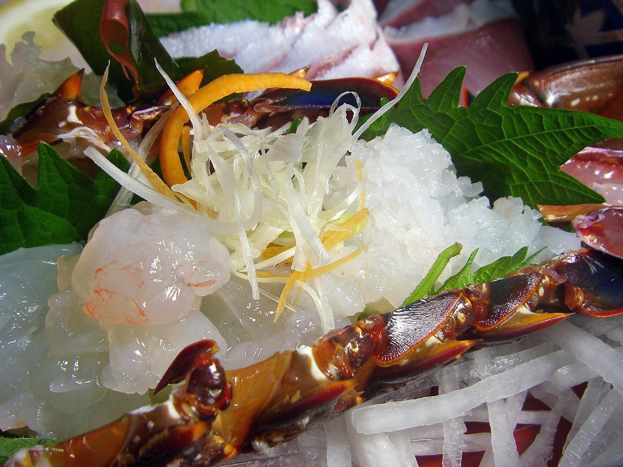 五色海老の味わい方