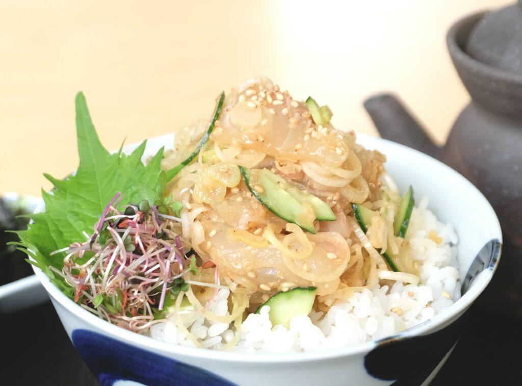 鯛,胡麻だれ,丼,海鮮,茶漬け,ランチ,東京