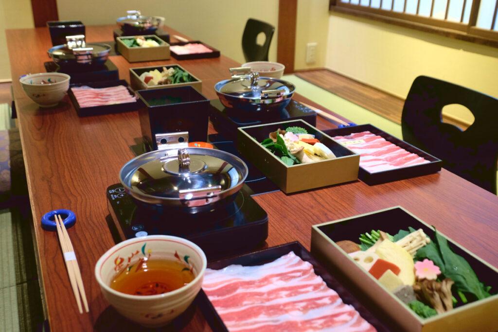 瓢喜,しゃぶしゃぶ,すき焼き,1人鍋,個室,東京