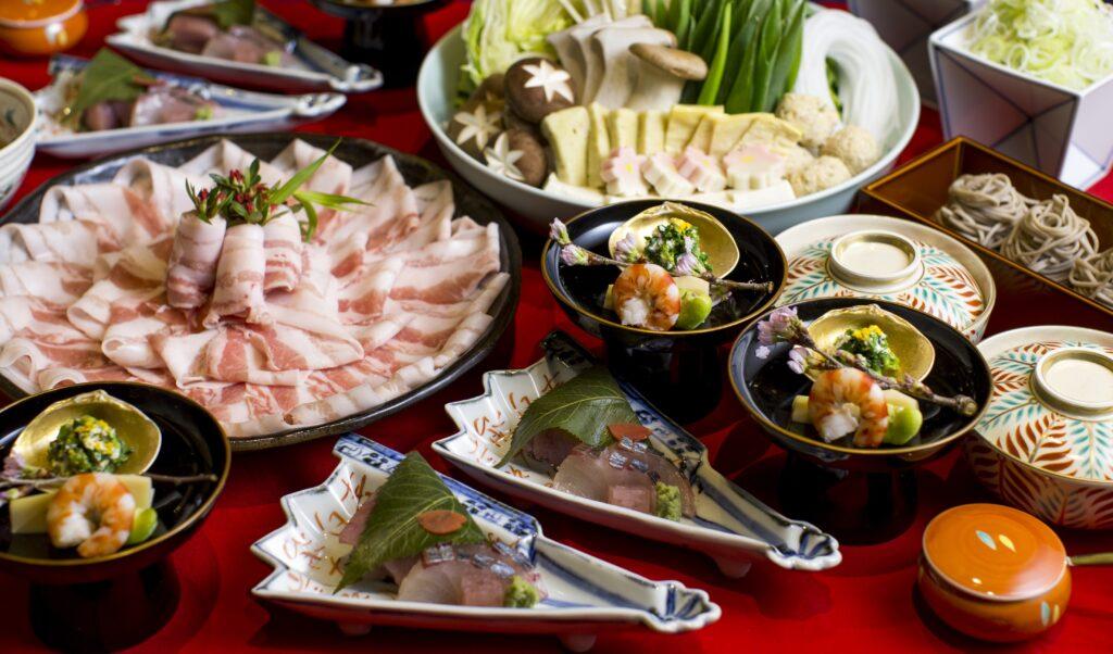 瓢喜,デリバリー,東京,鍋,日本料理,しゃぶしゃぶ