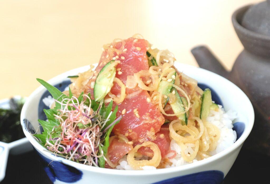 鮪,漬け,丼,海鮮,ランチ,東京