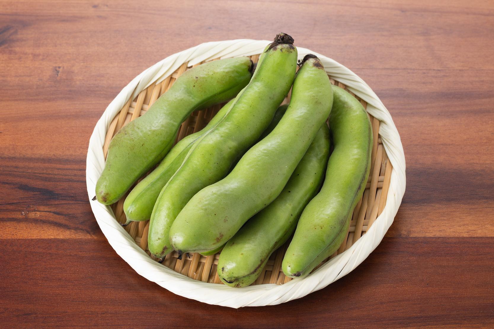 そら豆の栄養