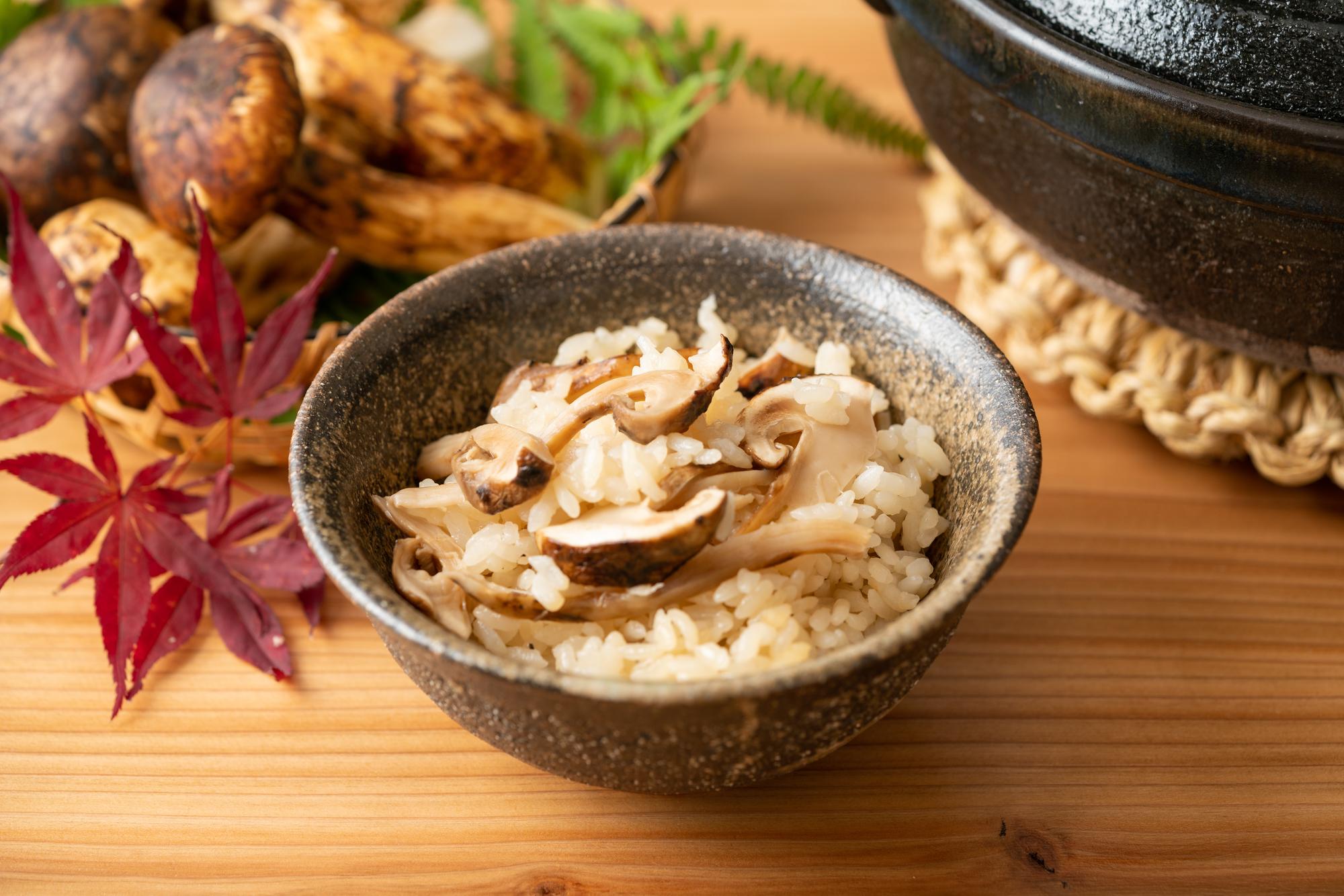丹波松茸の味わい
