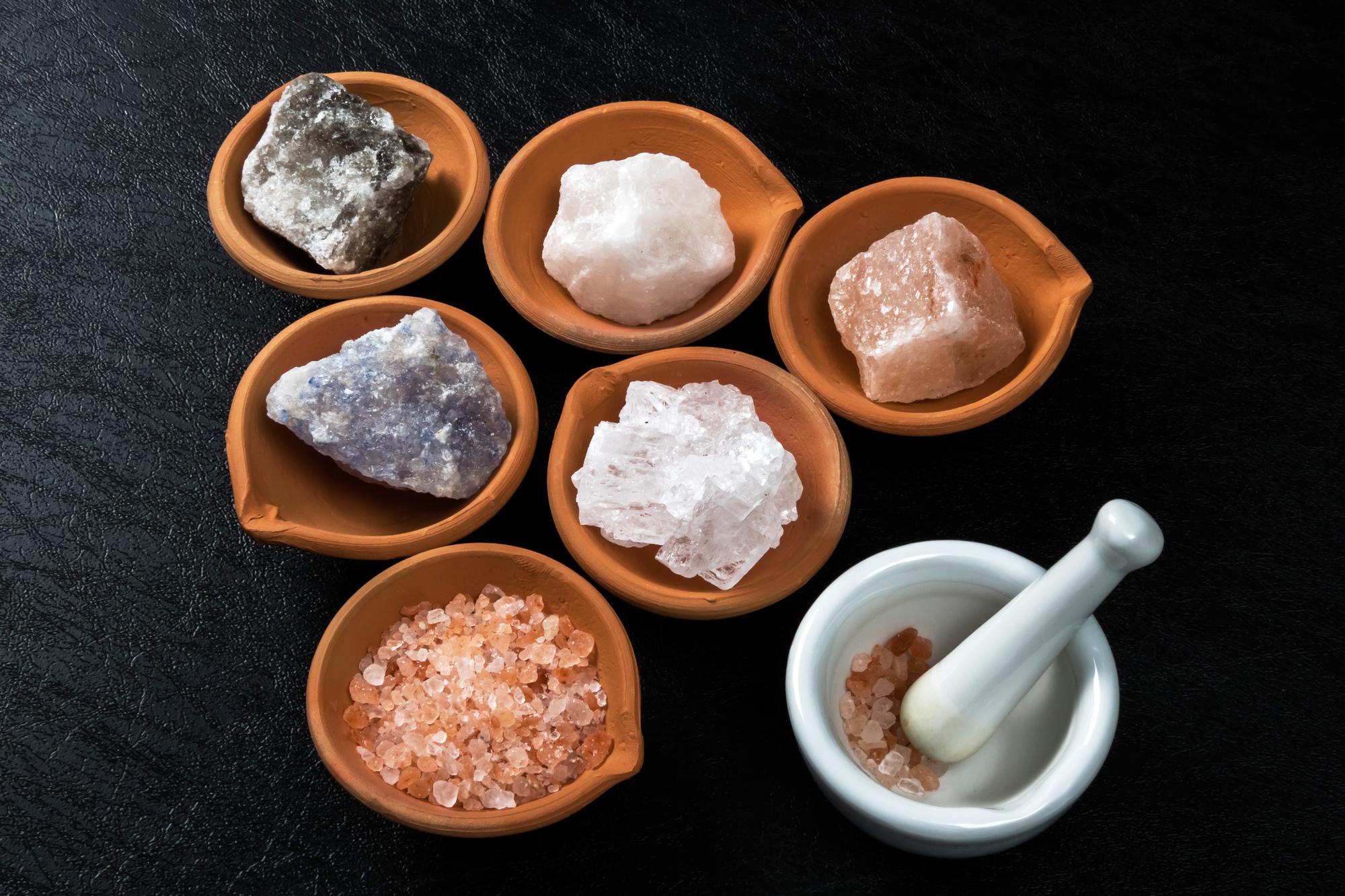 岩塩の種類