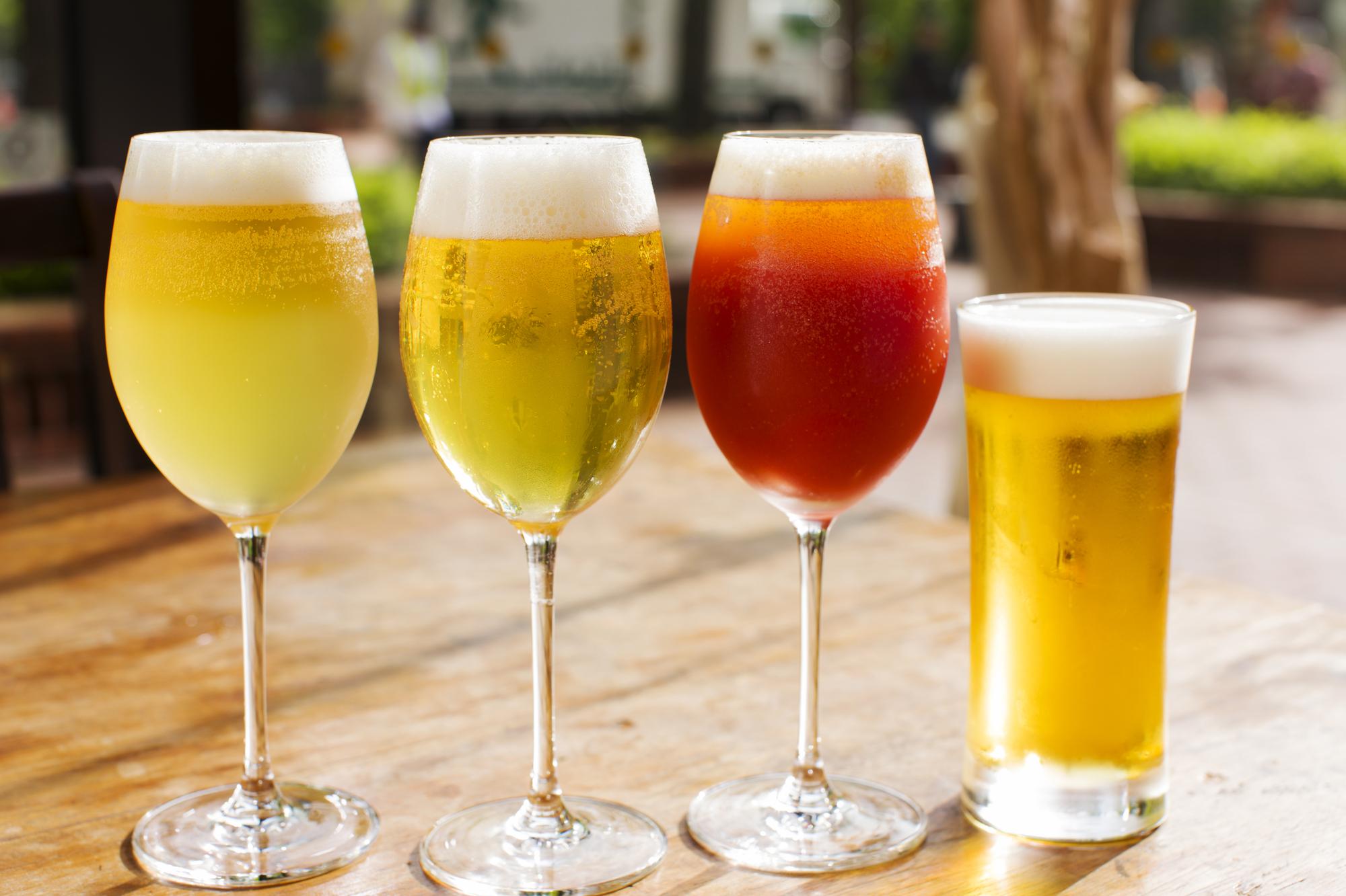 グラスビール色々